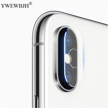 YWEWBJH For iPhone X XS MAX XR 8 7 6 6S Plus Accessory Back Camera Lens Screen Protector Full Cover Tempered Glass