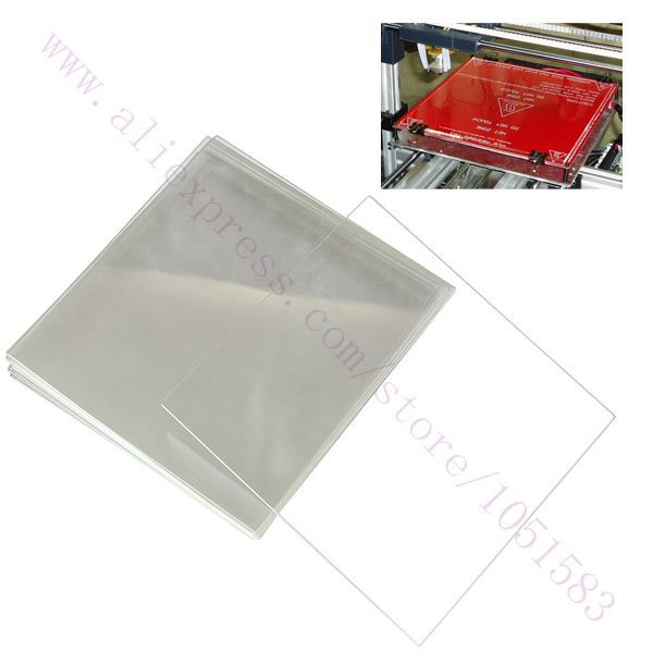 FYSETC 3D Printer Parts and Accessories 120X120 mm//4.7X4.7 12V 120W Silicone Heater Hotbed Mat Heated Bed Pad with NTC 100K Thermistor 3M Adhesive Backing for Reprap Davinci Mini V2 3D Printer
