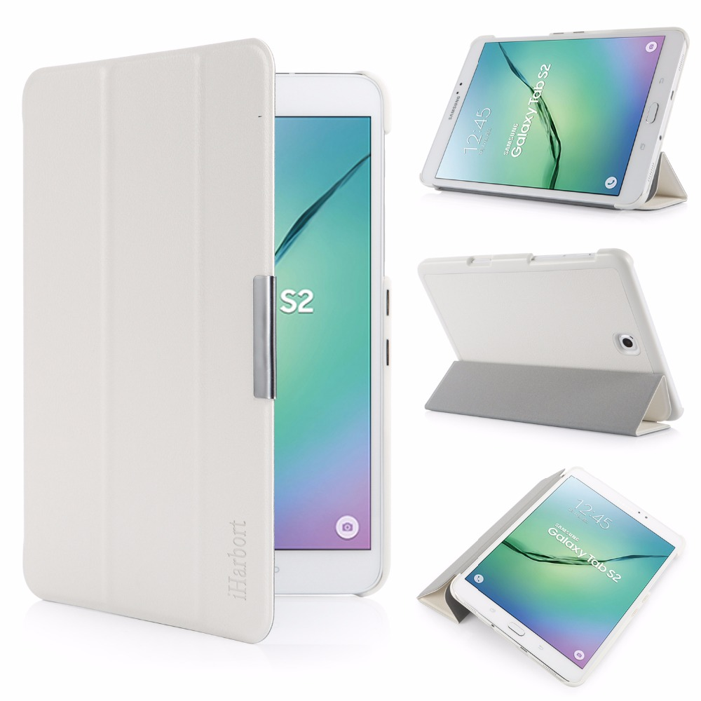 Stand Case for Samsung Galaxy Tab S2 8.0, SM-T710 T713 T715C T719C, iHarbort ultra slim PU Leather Case smart Cover Holder 2014 for samsung galaxy note 8 0 n5100 n5110 book cover ultra slim thin business smart pu leather stand folding case