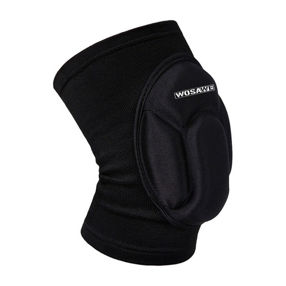 One Piece Sports Elastic Leg Knee Support Brace Wrap Kneepad Protector Patella Guard Volleyball Knee Pad