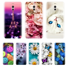 Phone Case For Meizu M6 M6S M5C M5 M5S M3S M3 M2 Soft Silicone TPU Cute Cat Painted Back Cover Note