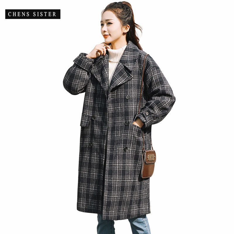 e556e46cd0 Buy pea coat plaid and get free shipping on AliExpress.com