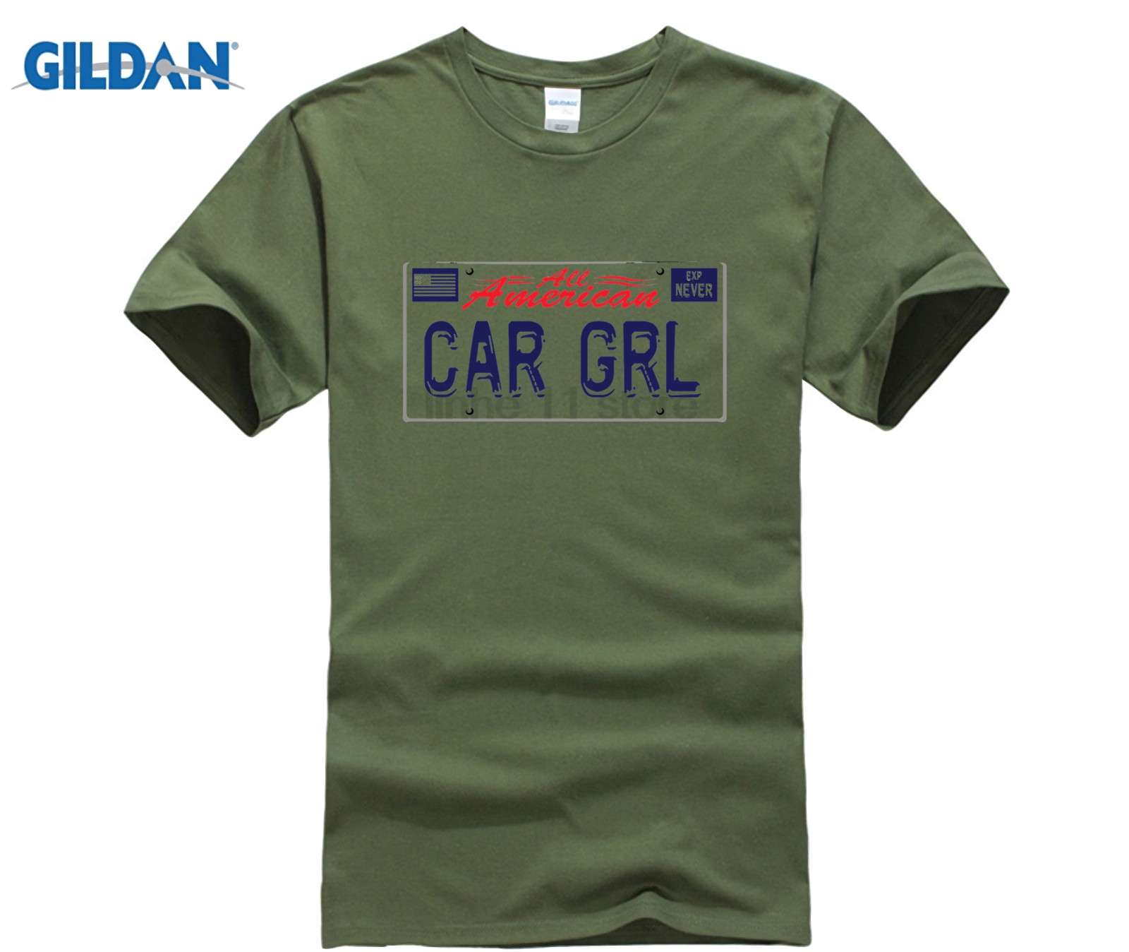 Hot Sale GILDAN CAR GRL T-Shirt dress T-shirt - Jsboutique c8949a457ff