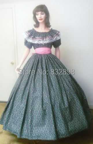 pioneer woman clothing. civil war southern belle pioneer dress costume-in movie \u0026 tv costumes from novelty special use on aliexpress.com | alibaba group woman clothing