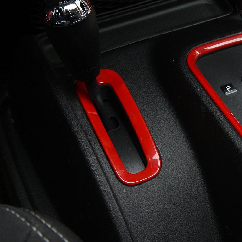 Best sales abs interior accessories gear box trim cover for Interior jeep accessories