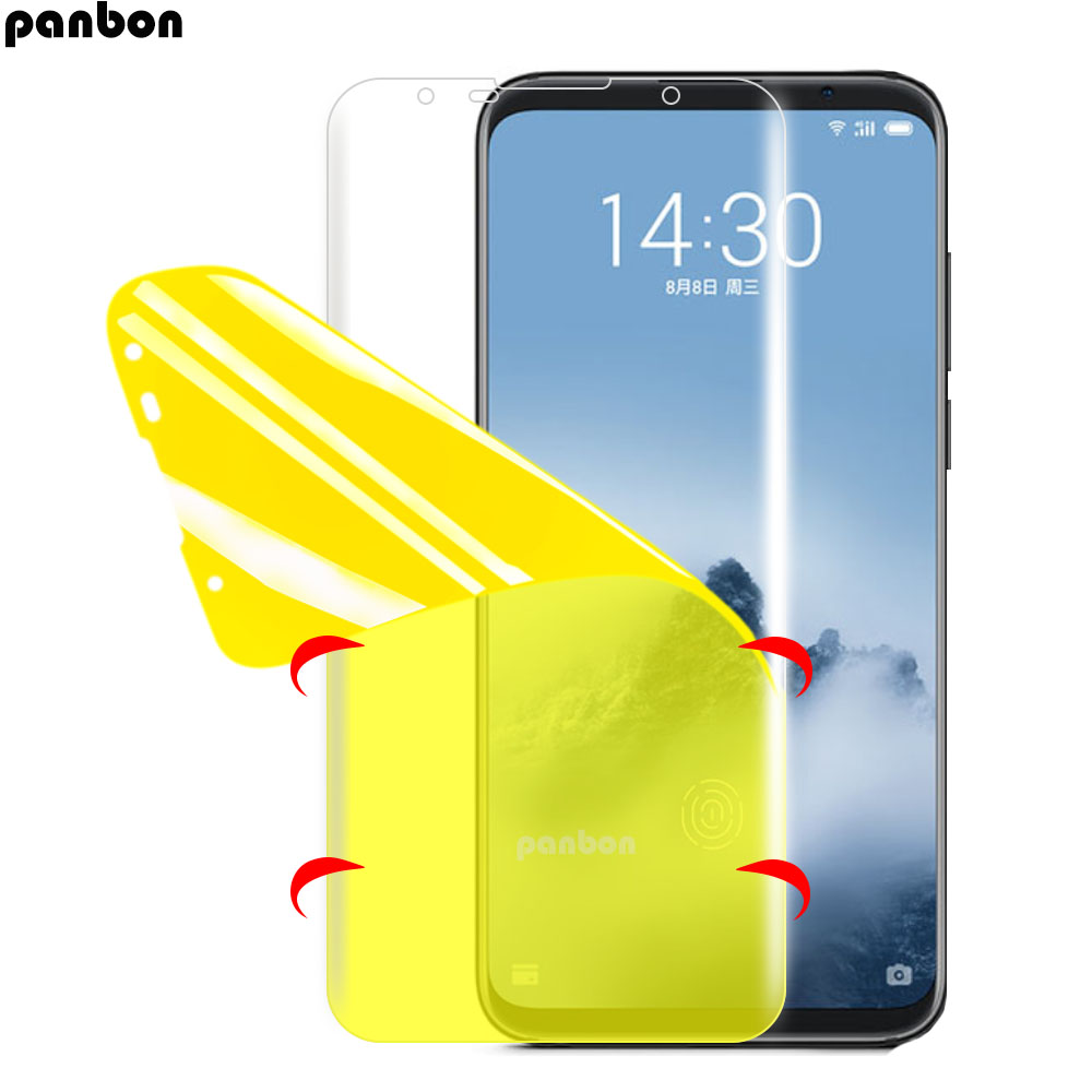 3D Soft Hydrogel Nano Film For Meizu 16/16th/16 Plus/16X Screen Protector For Meizu 16th Plus 16X Soft TPU Nano Film (not Glass)