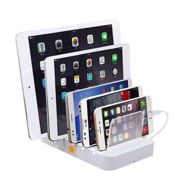 New 5 Port Usb Cell Phone Charging Station From Sipolar Factory