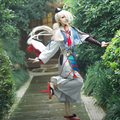 Imanotsurugi Cosplay Touken Ranbu Online Poliéster Uwowo Traje Traje de Samurai