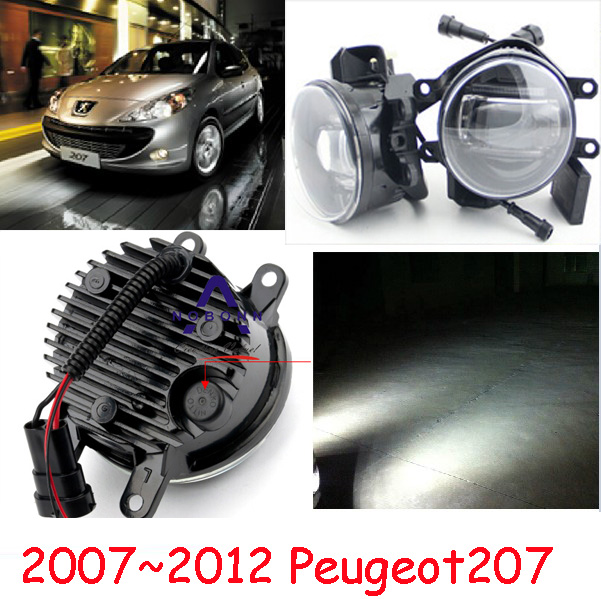 Peugeo 307 light,Peugeo 207 fog light,2pcs,LED,Peugeo 308 daytime light,Free ship! Peugeo 408 Fog lamp
