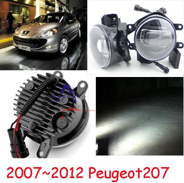 Peugeo 307 свет,Peugeo 207 противотуманных фар,2шт,СИД,Peugeo 308 дневного света,Бесплатная доставка! Peugeo 408 противотуманная фара
