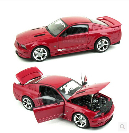 Ford Mustang SALEEN AUTOart 1:18 Original simulation alloy car model S281 Fast & Furious Limited Collection Special offer ford mustang v6 2011