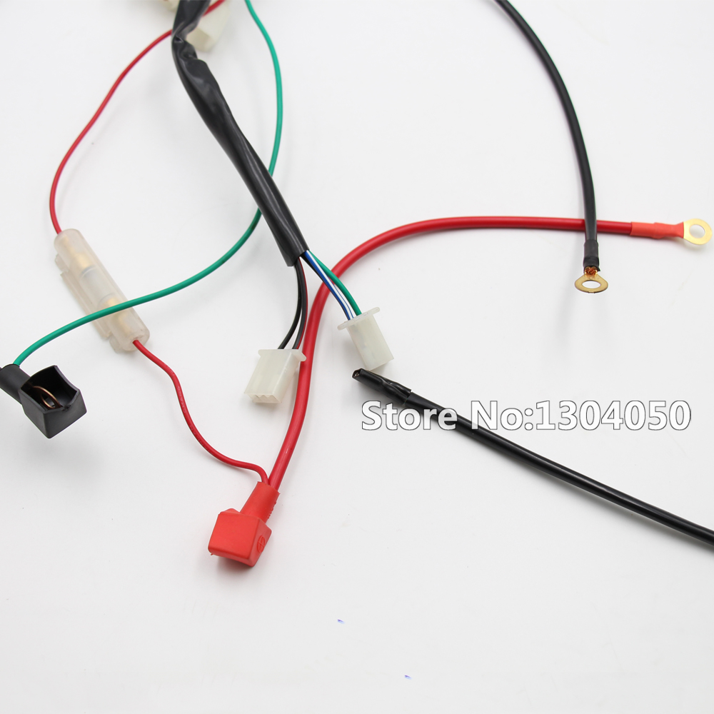 Lifan 200cc Wiring Harness Electrical Diagrams 140cc Diagram Wire Assembly For Honda Motorcycle Atv Mini Chopper