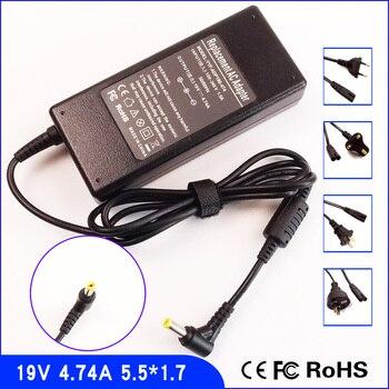 19 V 4.74A Laptop Ac Adapter Ladegerät/Netzteil + Kabel Für Acer Aspire 5110 5112 5520 5540 5670 5672 5674 5680 4735