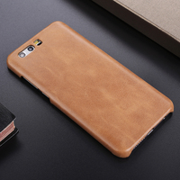 Genuine Leather Case For Huawei Honor 9 Luxury Matte Back Cover Honor9 Original Cowhide Housing