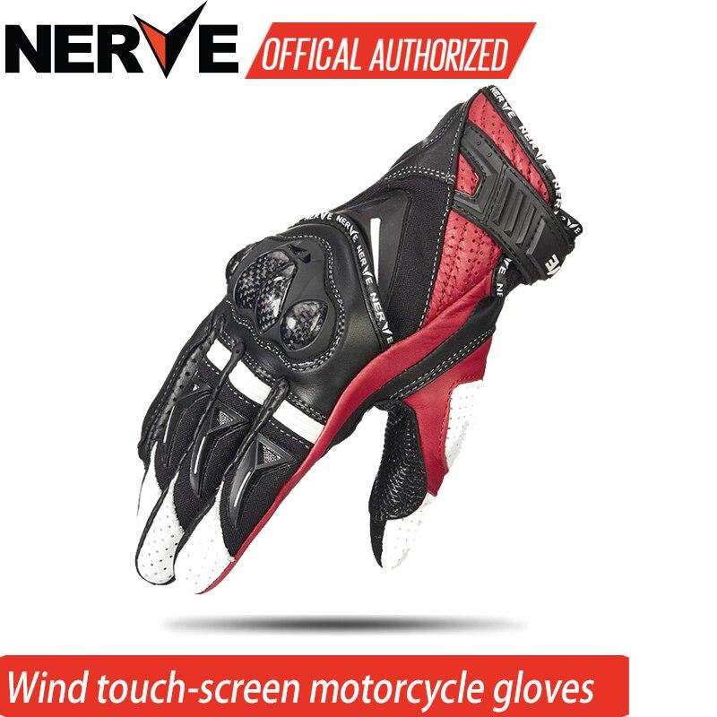 Nerf nouveaux gants moto cycle équitation Protection équipement course gants moto rétro moto cycle gants écran tactile KQ1029