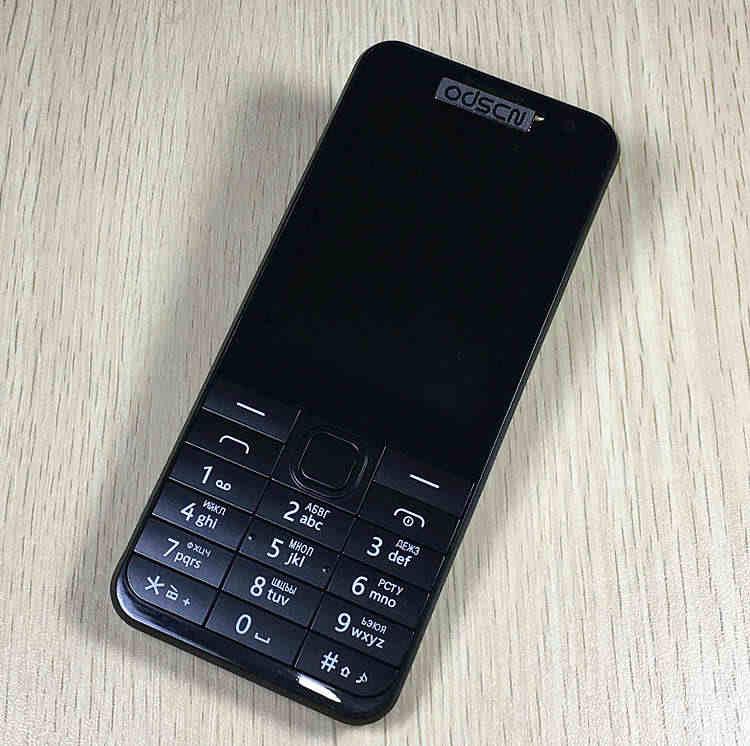 Giải tỏa bán Slim Dual SIM mở khóa Cao Cấp Điện Thoại 2.8 ''Màn Hình Lớn 230 Điện Thoại Giá Rẻ Nga Bàn Phím ODSCN 230