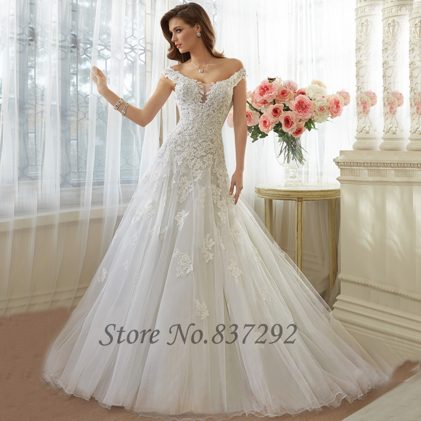 Compare Prices on Elegant Lace Wedding Dress- Online Shopping/Buy ...