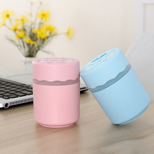 Four Leaf Mini Air Humidifier For Car Night Light Usb Portable Office 230ML 6 Hours Working Mist Maker