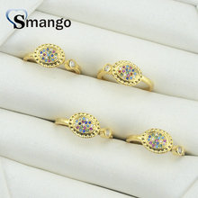 5Pieces,Women Fashion Jewelry,The Rainbow Series Open Mouth Rings,Gold Colors,Can Wholesale