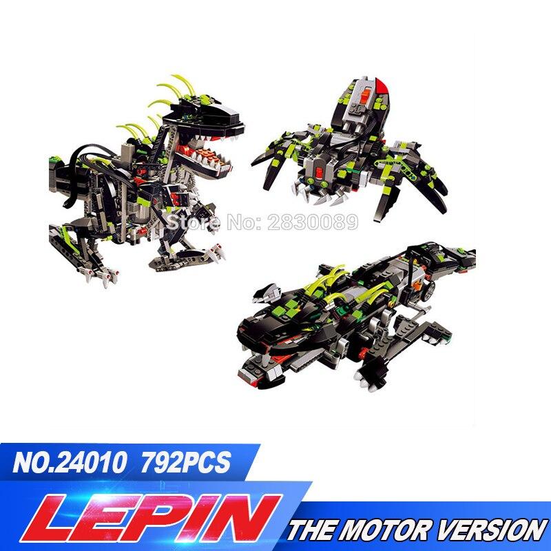 New Lepin 24010 Monster Dino building bricks blocks Toys for children boys Game Model Car Gift Compatible with Decool Bela 4958