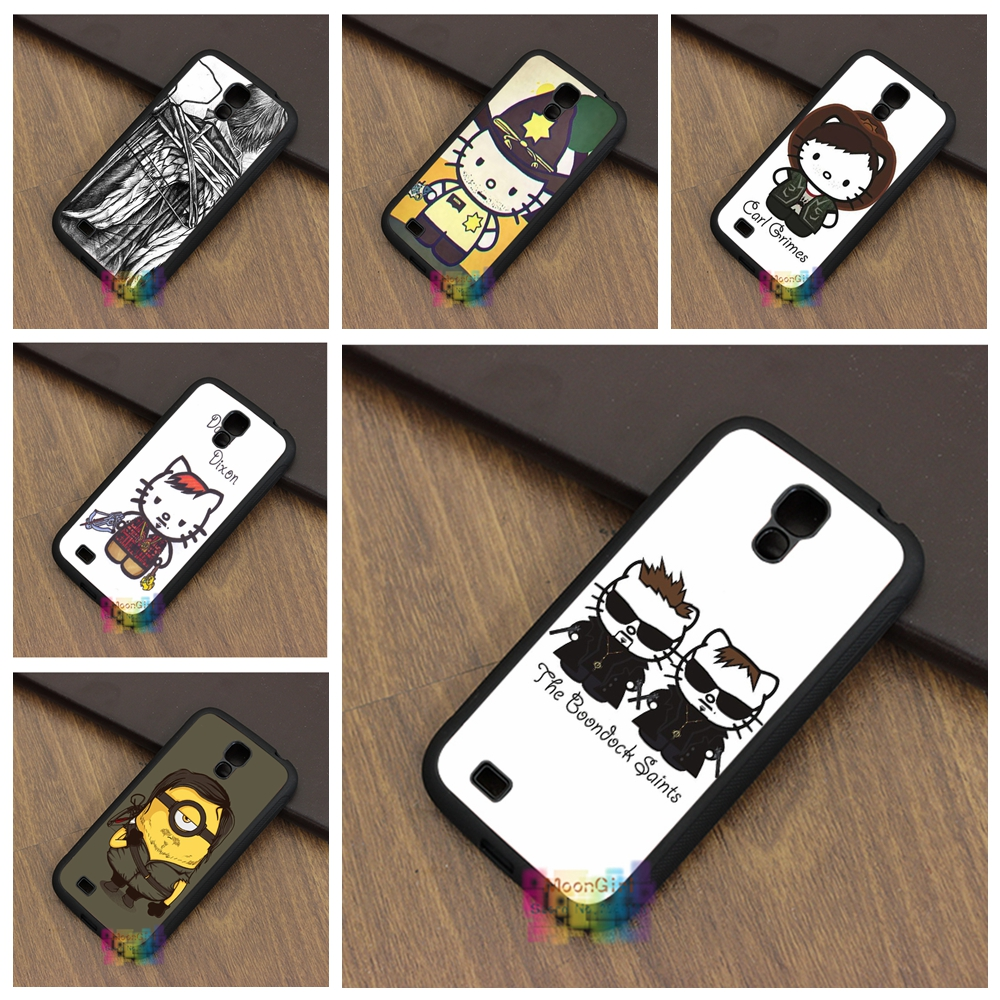 Daryl Dixon Hello Kitty 6 fashion phone case for samsung galaxy S3 S4 S5 S6 S6 edge S7 S7 edge Note 3 Note 4 Note 5 #LB0274