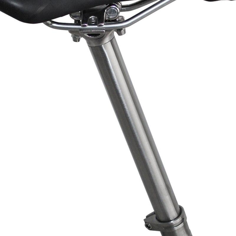 Titanium Ti 27.2mm//30.9mm//31.6mm*350mm Road MTB Bike Cycling Seatpost Seat Tube