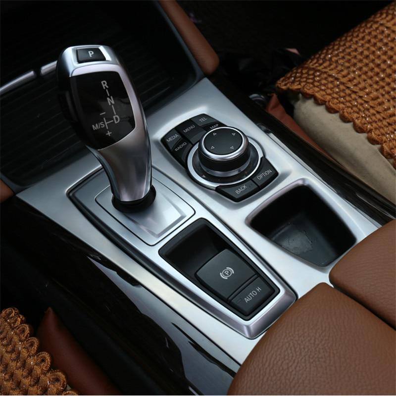 2010 Bmw X6 M Exterior: Interior Car Gear Box Panel Cover Trim For BMW X5 E70 2010