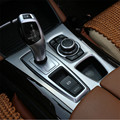 Interior Car Gear Box Panel Cover Trim For BMW X5 E70 2010-2013  X6 E71 2010-2014