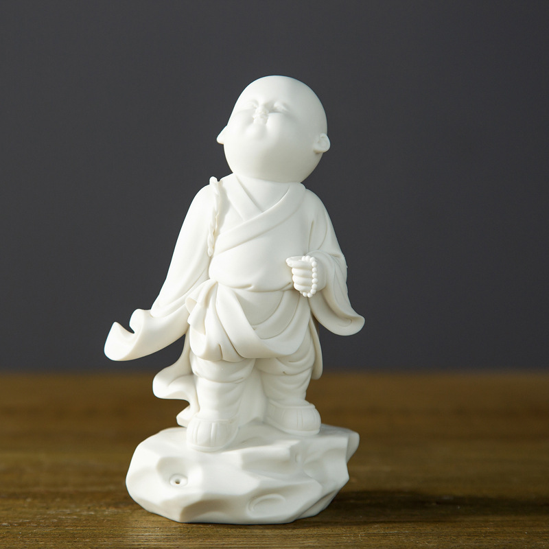 High-Grade Grease Porcelain Ceramic Furnishing Articles Study Indoor Decoration Accessories Fame Porcelain Doll