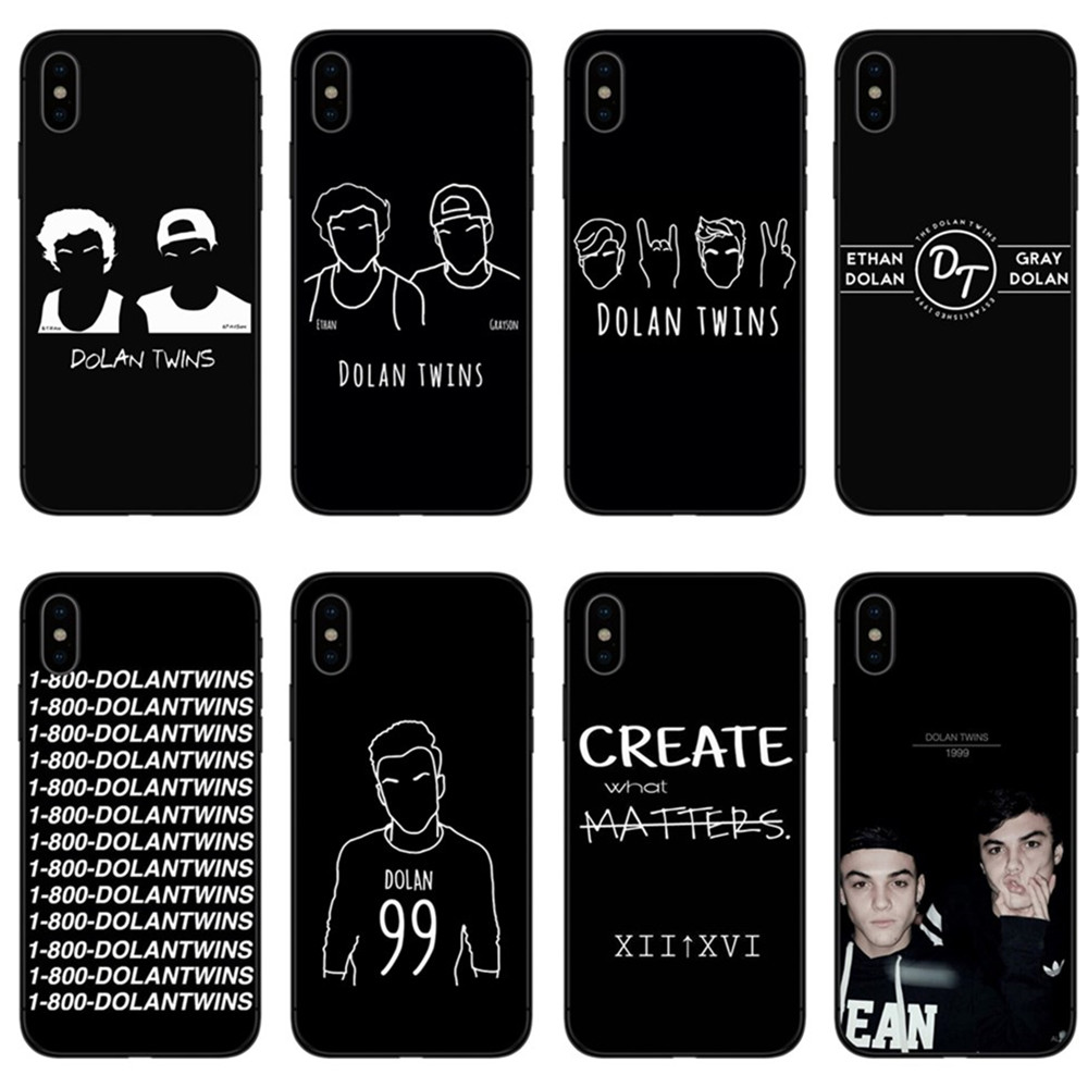 dolan twins iphone 8 case