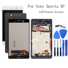 Voor Sony Xperia XP F8131 F8132 LCD Monitor Accessoires + Frame voor Sony Xperia X Hoge Prestaties Lcd scherm Digitizer kit