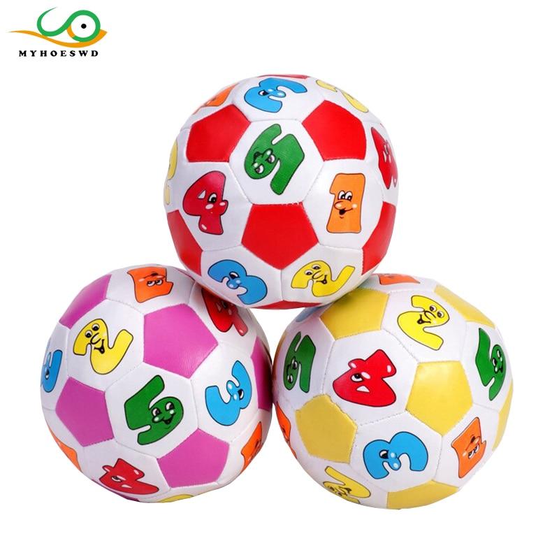 MYHOESWD Baumwolle Gefüllt Mini Fußball Spielzeug Für Kinder Piscina De Bolinha Com Als Bolas Wasserball Spiel Mit Ringkugeln Für Kinder