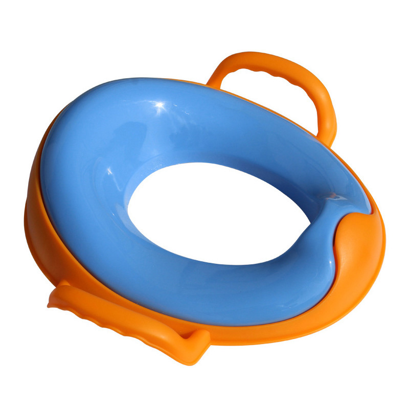 Portable Children Baby Plastic Toilet Potties Seat Pots Hygiene Trainers Toilet Ring YH- ...