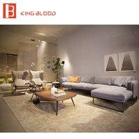 Royal Style Dubai Modern fabric Sofa Furniture with Metal Frame