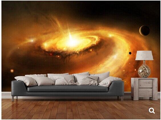 US $13.5 55% OFF Benutzerdefinierte Star Universe tapete, Spirale Galaxy  Core, 3D moderne wandbild für wohnzimmer hintergrund schlafzimmer hotel  Vinyl ...