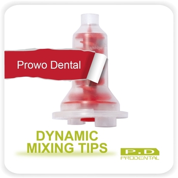 100PCS Dynamic Mixing Tips Dental supplies silicone rubber material hit machine mixing head