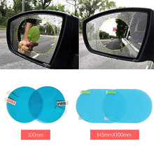 2pcs Stickers On Car Accessories Auto Rainproof Film For Rearview Mirror Waterproof Anti-Fog Window And Decals