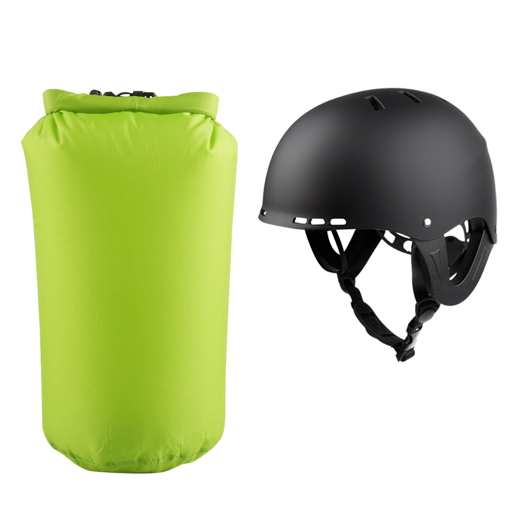 Kayak Canoe Boating Drifting Helmet Safety Surf Snowboard Hat + 8L Waterproof Ultralight ...