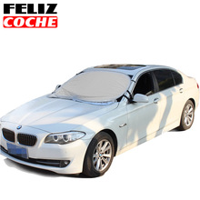FELIZCOCHE Waterproof Car Snow Covers Car Window Sunshade For SUV Reflective Foil Car Windshield Snow Blocked Anti-UV A2125