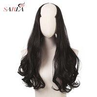 Волнистые U часть парики для Для женщин 24