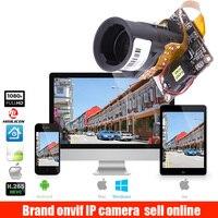 H.265 2MP IP Camera Module 4X Auto Zoom Varifocal Auto Iris Lens 2.8 12mm HI3516E + SC2235 1920x1080P Resolution