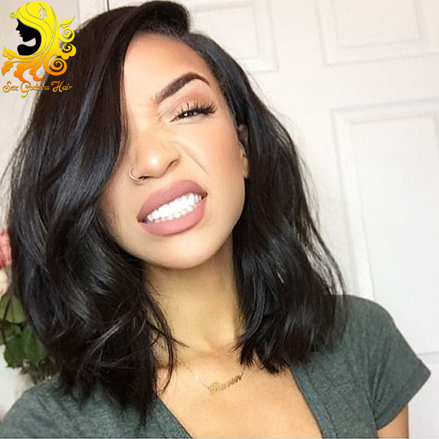 Superb Online Get Cheap Human Short Hair Wigs Aliexpress Com Alibaba Group Hairstyles For Women Draintrainus
