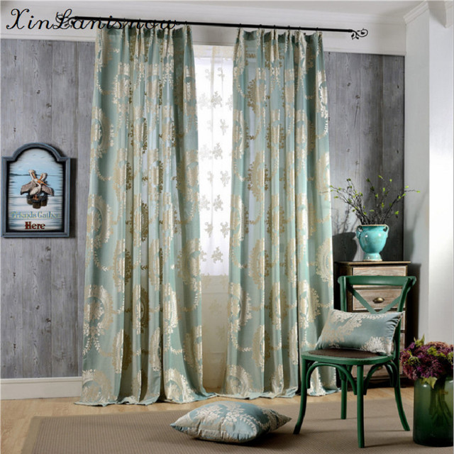 Aliexpress.com : Buy Eruopean New Woven Jacquard Curtain Cloth for ...