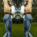 Women Sexy Hip Push Up Pants Legging For Jegging Gothic Leggins Work Out 2016 Autumn Winter Jeggings