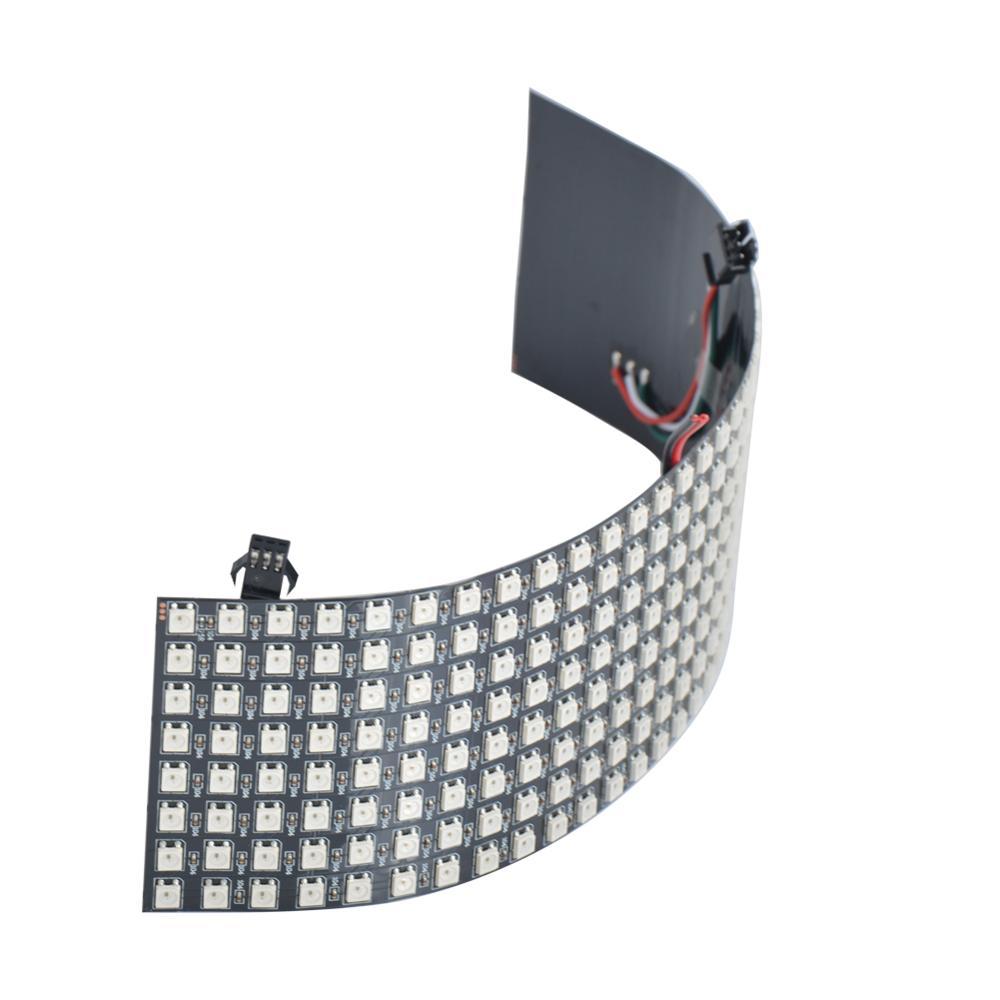 8x8 16x16 8x32 Pixels SK6812 WS2812B RGB Matrix Individually Addressable Digital Flexible LED Panel Pixels Screen DC5V