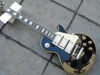 Black Ace Frehley Budokan A Custom guitar free shipping chrome hardwares ZEBRA pickups high quality broad spectrum diverse musi