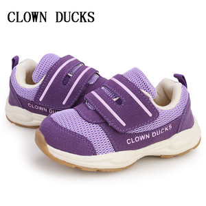 New Spring Children Shoes For Girls Boys Sport Shoes Antislip Soft Bottom Kids Shoe Comfortable Breathable Sneakers CLOWN DUCKS