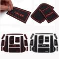 13 шт./компл. противоскользящая внутренняя подушка для автомобиля  коврик для двери  чехлы для чашки  наклейки  подходят для Chevrolet CRUZE 2009-2014  ко...