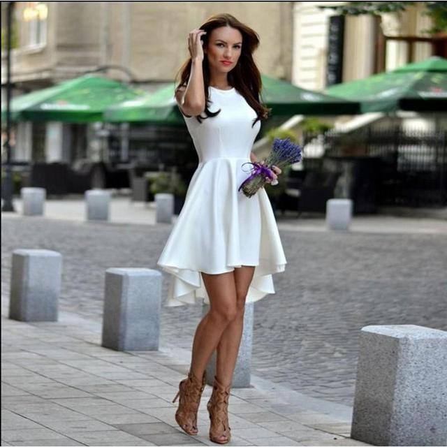 bd9be56cd9c81 Casual donna abiti vestiti di autunno per le donne senza maniche o-collo  abbigliamento donna
