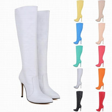 Female Motorcycle Boots Winter Boots women